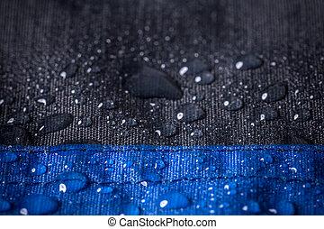 impermeabile, tessuto, fondo
