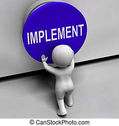 Implement Button Means Do Apply Or Execution - Implement...