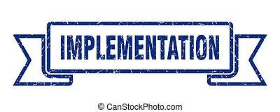 implementation grunge vintage retro band. implementation ...