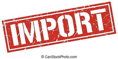 import square grunge stamp