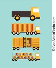 importación, exportación, diseño