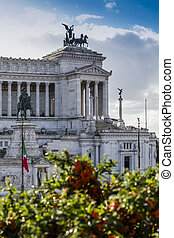 important landmark altare della patria Rome