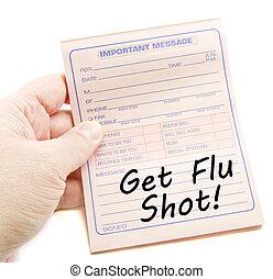 Important Message Get Flu Shot