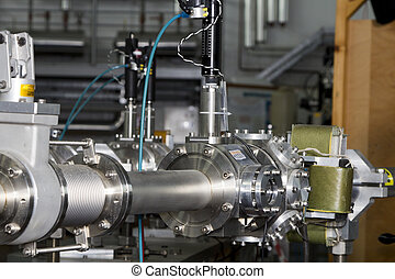 Important parts of ION accelerator - Important parts of ION...