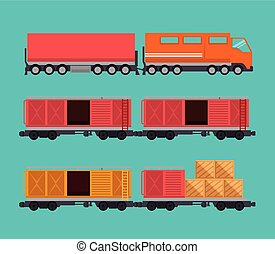 importation, train, gratuite, expédition