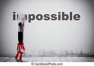 imposible, posible, cambio
