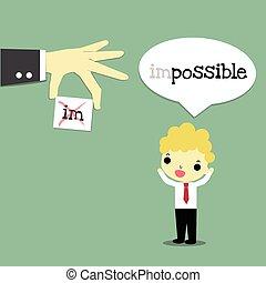 imposible, recortar