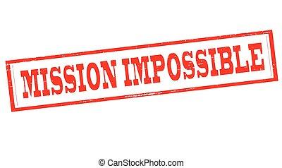 impossível, missão