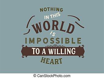 impossibile, questo, niente, mondo