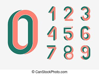 Impossible Geometry numbers - Impossible shape numbers....