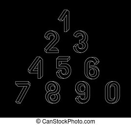 Impossible Geometry numbers