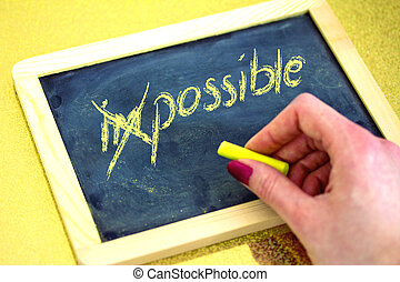 impossible is possible