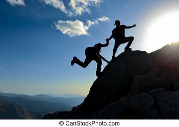 imprenditoriale, &, aiuto, sostegno, innovativo