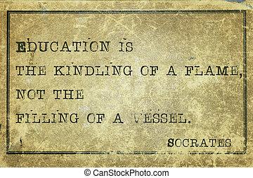 impresión, educación