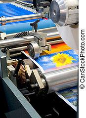impresión, máquina