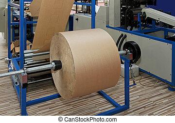 impresión, rollo de papel