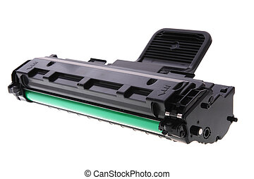 impresora, laser, cartucho