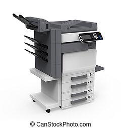 impresora, oficina, multifunction