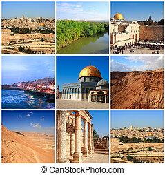 impressões, de, israel