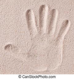 impression, main, sable