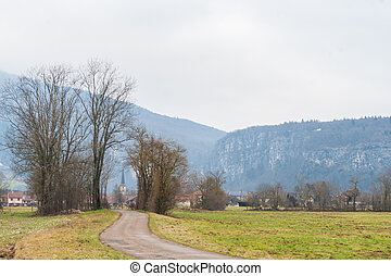 Impression of the Country side in the French Savoy Area