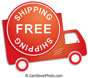 Impression - Sticker  free shipping red