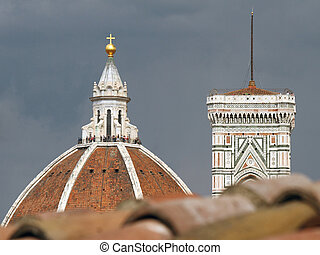 impression with Florence cathedral