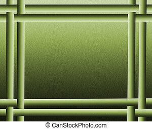 impressionante, astratto, sfondo verde