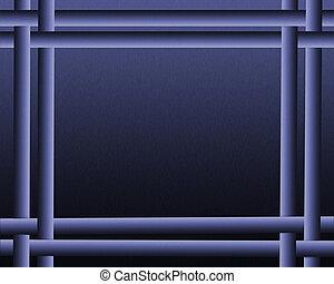 impressionnant, résumé, arrière-plan bleu