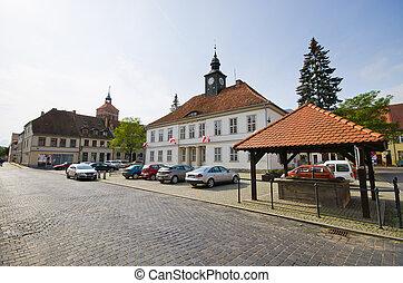 Impressive buildings in Reszel, Poland - Impressive...