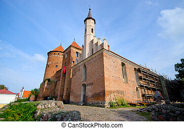 Impressive buildings in Reszel - Poland