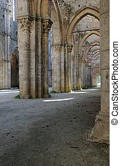 Impressive Columnade - an impressive and beautiful gothic...