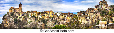 Impressive Toffia, near Rieti - Toffia -hill top village ( ...