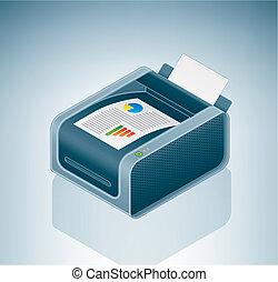 impressora cor, laser