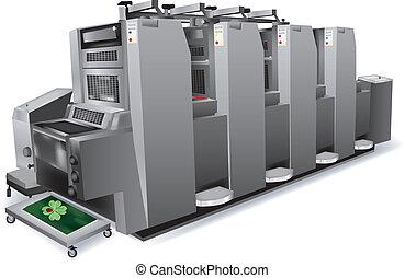 impressora, offset
