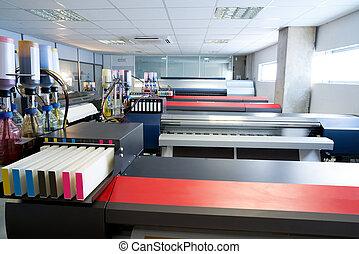 impressora, transferência, indústria, impressão têxtil, papel