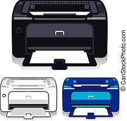 imprimante, bureau