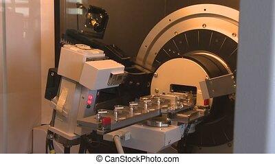imprimante, fonctionnement, appareil, laboratoire, spécial,...
