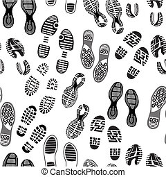 imprimer, soles, chaussures