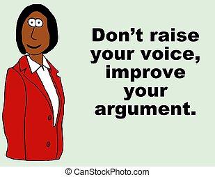 Improve Argument