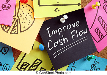 Improve cash flow. Reminder pinned to the board.