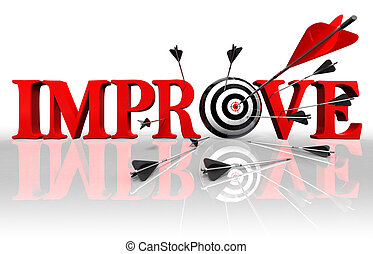 improve conceptual target - improve red word and conceptual...
