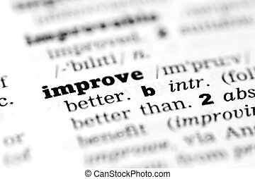 Improve dictionary definition