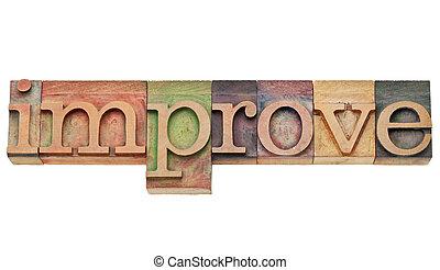 improve - motivation concept