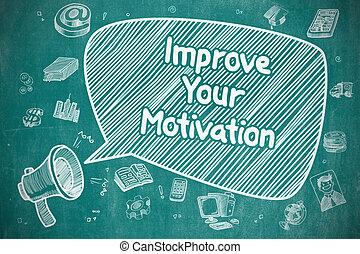 Improve Your Motivation - Business Concept.