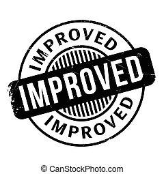 Improved rubber stamp