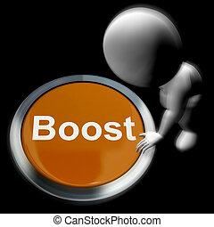 impulso, apertado, meios, melhoria, actualização, ou,...