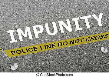 IMPUNITY - criminal concept