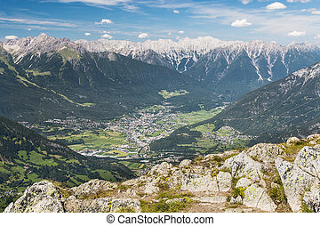 Imst and Inn Valley in Austria