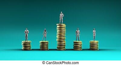inégalité, économique